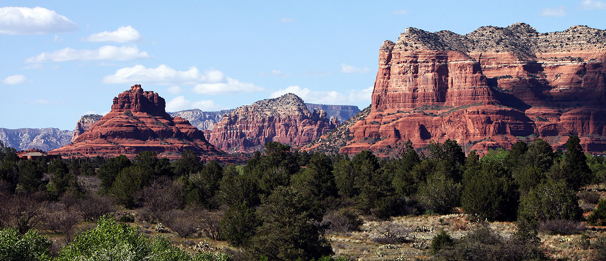Bell Rock & Courthouse Butte Sedona, Arizona