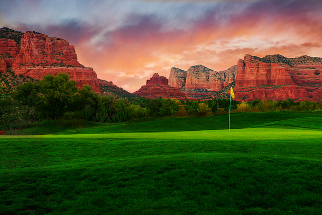 Oak Creek Country Club Golf Course Sedona, Arizona